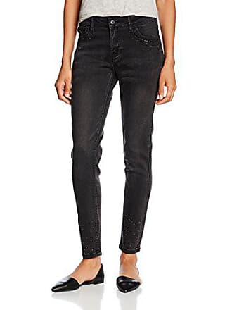 Femme Jeans9732 Jeans Front And Wiith Pockets In Back negro Strass Noir Tantra OdwPqx8O