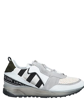 amp; Crown Leather Basses Sneakers Chaussures Tennis x07StnqwCn