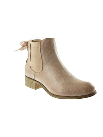 Chelsea Bottine Folie Angkorly Boots Lacet Satin Forever Ruban tqaOwEwd