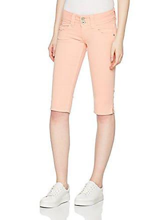 W Pantalones Crop coral 137 Para Rosa Venus Pepe London Pl800037 28 Jeans Peach Mujer Cortos UAq6FAXBw