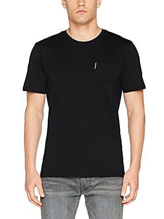 The Homme Xx Tee shirt Noir 290 black Crew Ben Sherman Pocket T Plain large SqxwST5R8