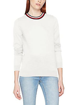 White Suéter 118 Del snow Mujer Hilfiger Tommy Fabricante nk Swtr Tipping 36 Small Blanco Para talla Adana C 8PqwZ7Yq