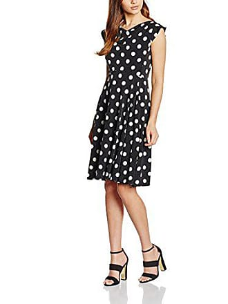Fabricant 1094 Swing Femme Polka 46 Robe Cocktail Xl ivory Multicolore Avec Dots taille black zqaz71xH
