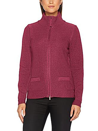 Gilet Rouge 11000124 Longues rose Rond Col Femme Manches Olsen 5pqxRaw