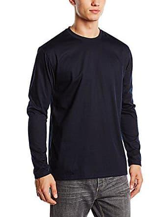 Large Trigema Bleu Longues Homme Manches Xxxx T Shirt BpAnqfP