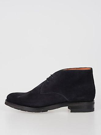 Suede 5 Leather Size 10 Shoes Santoni thQdxCsr