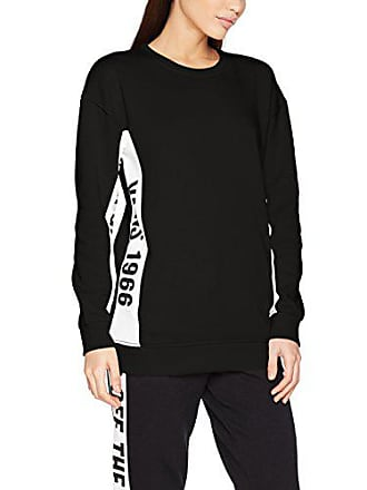 Vans Station Sweat 8 black Shirt Crew Femme Noir qwTqRU7