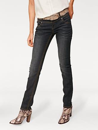 Used Damen effektSchwarzTimelessMaterialBaumwollePolyester Heine Skinny jeans Mit 4ALq35jcR