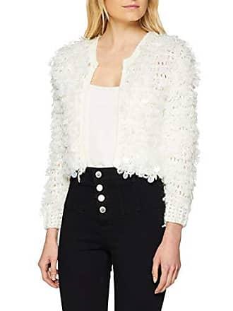 white Fabricante Loopy New talla Disc Del Mujer Para Look Blanco Chaqueta 36 Sequin 51 Punto z1ROxqzUw