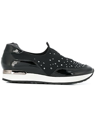 Noir Högl Embellished Sneakers on Slip pw0q17