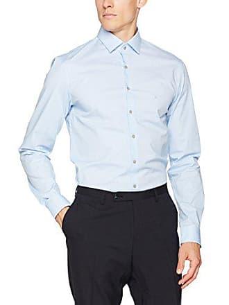 Ftc Azul Large Fabricante Del Fit Oficina danish Camisa Slim talla Calvin 40 Para Blue De Hombre Bari Klein UqO4Iv