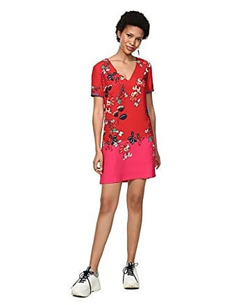 Vestido Palido Desigual Para Debrecen 3015 46 Rojo salmon Mujer 5PqvZAwq