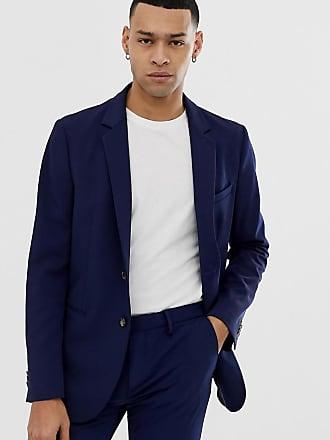 Doublé Colors Marine Blazer United Of Non Ajusté Benetton Bleu Y5qwO1Y