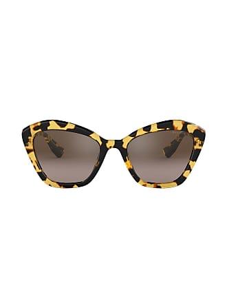 Soleil Monture Eyewear PapillonMarron à De Miu Lunettes tQxCsdhr