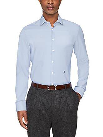 Kragen Slim Hombre Azul Oficina Seidensticker Langarm Bügelfrei 13 blau 43 Kent Para Mit De Camisa ZIPdwqT