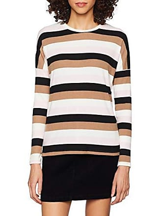 Stripe T New Damen Multi Look Brushed shirt NnXwOPZ80k