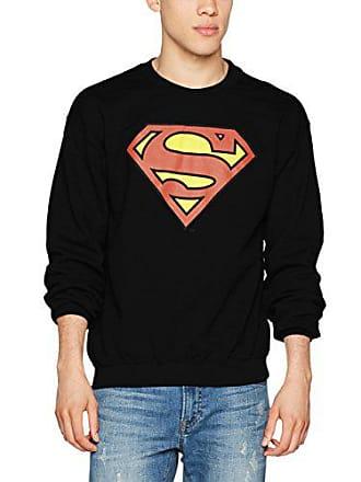 Shirt Superman Comics Sweat Noir Shield Originals Dc Black Homme Official SYwO7t