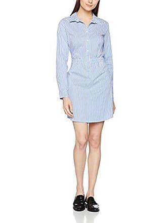 Comma 88703823800 Femme 55g6 Robe Stripes blue 42 Mehrfarbig xRpSawqx