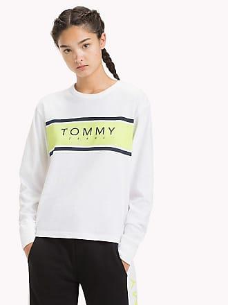 Hilfiger Longues Logo Et T Jeans à Tommy shirt Manches CBoerxWd