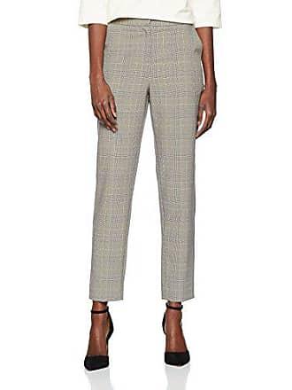 a Gamba 36 pantaloni da sottile magazzino multi dal taglia 10 multicolore produttore quadri donna da qqvnAH5