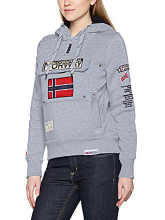 Capuche Geographical Grau Sweat Assort Lady À Femme Shirt A Norway Gymclass S48SqR7a