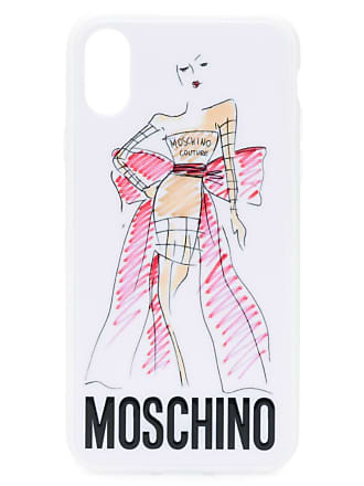 Moschino Coque Diphone x Sx ImpriméeBlanc XkN0ZnO8wP