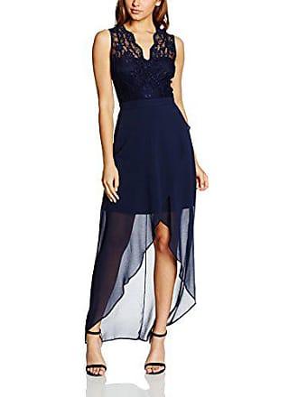 Azul Vestido Ryan navy Mujer Low High Chiffon Para Elise Lace 38 x8nPAwUw