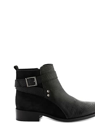 Cuir Farel Noir Boots Cosmoparis bipyt pwPOOq