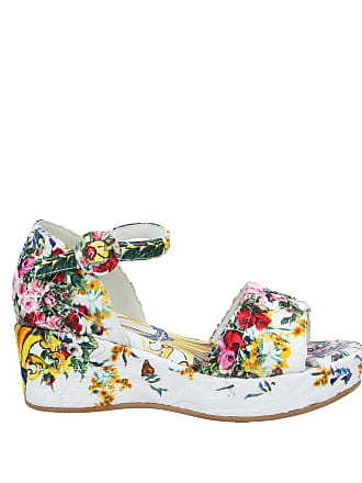 Con Fino A Gabbana®Acquista Zeppa −60Stylight Sandali Dolceamp; n8OkwN0PX