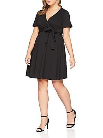 talla Fabricante Negro Wrap 48 Del Vestido black Dress 20 Mujer Fiesta Perkins Dorothy 4aqPgg