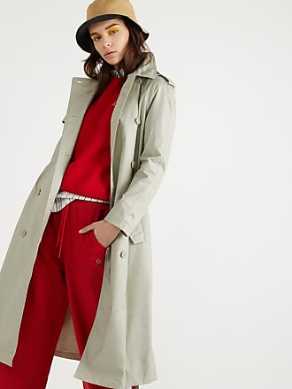 Fax Long Trench Lafayette Galeries Femme Vert nP0O8kXw