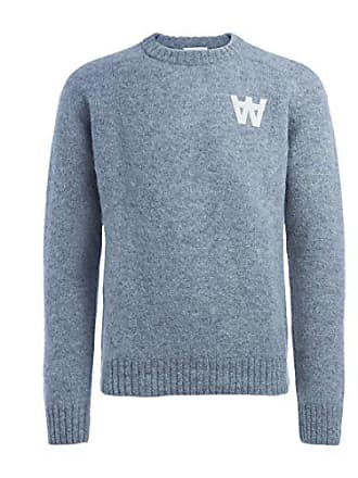 Uomo Sweater Felpa Wood Grigio Kevin light Medium Grey qwzqEt