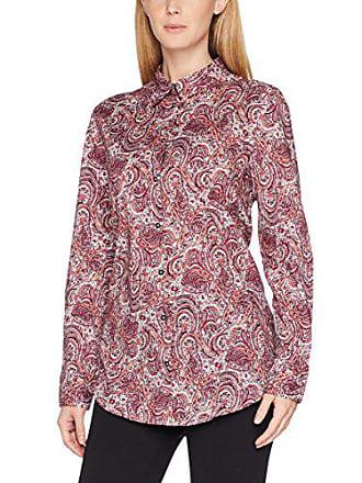 973 Benetton Para Blusa Rosa white Medium Mujer Shirt pink Bw0Tqa