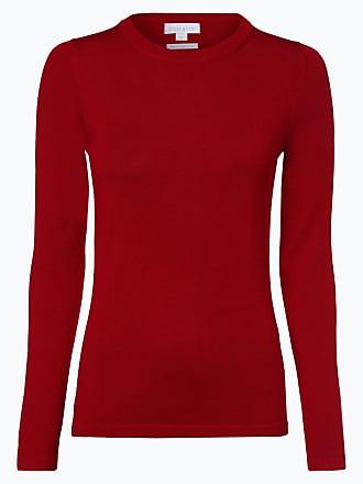 Damen Rot Aus Brookshire Pullover Merinowolle ZiPukXO