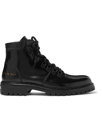 Noir Cuir Hiking En Bottines Projects Common 7aBSS