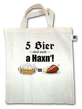 5 Henkel Jutebeutel Bier Xt500 Haxn Auch Unisize A Oktoberfest Damen Sind Shirtracer Natural Kurzer ECwangOxPq