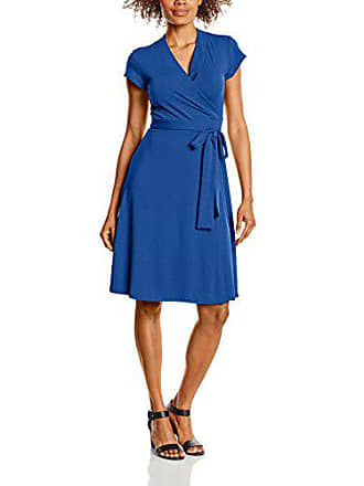 Squash Hot Vestido Cap Mujer Sleeve Para Wrap 44 Azul cobalt SFFAxqd