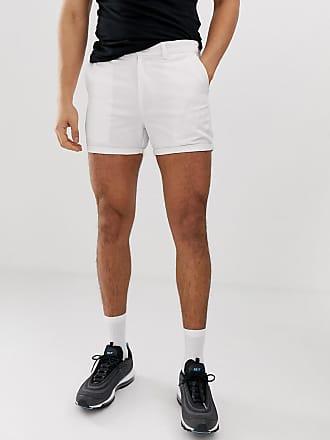 Boohooman En Pantalones De Blanco Chinos Cortos 6rZqwt6TxU