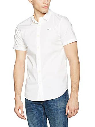 57 Shirt shirt classic Basic Homme taille Cm T White Stretch Longues Fabricant Jeans Blanc S Coupe Cintrée Medium Manches s Tommy 48 Wz0xH4nwc