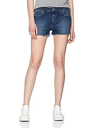 Cortos Del Pantalones Wrangler 34k Large Fabricante Mujer W32 Azul Blue Para talla Boyfriend Short bonfire qTZ7pwtS