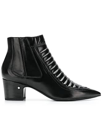 Pointed Noir Ankle Dacade Laurence Boots 7FRx5OqnwZ