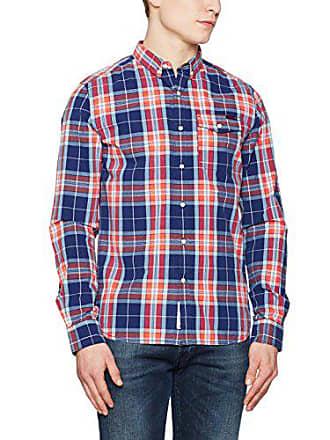large Buttn OrangeX Washbasket Herren s Superdry Dwn Check L Freizeithemd Mehrfarbigpaddock nO80wXPkNZ