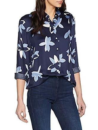 Del Seidensticker Blumendruck Azul Fabricante Modern 44 Mujer Hemdbluse Fit Blusa dunkelblau Para 42 19 talla Langarm 6IqrOnxI