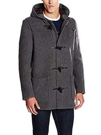 Duffle Length Gloverall Cappotto Grigio Grey Uomo Large Mid qE4Fawxg