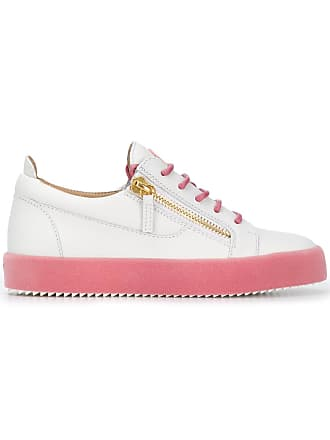 Giuseppe Low Blanc Sneakers Top Zanotti rSpwqr