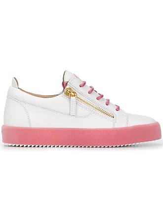 Giuseppe Zanotti Sneakers Low Blanc Top rrxSUw
