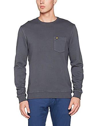 Lyleamp; Sweatshirt Herren Garment Dye Scott 34A5LRj