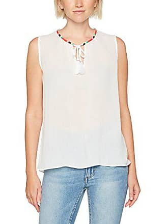 l S 15 bright talla Large Blusa Sin Jeans White Tank Fabricante Mujer 14 Cn Tommy Mangas Blanco Del YxApXw6nw