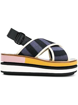 Marni Multicolore Marni à plateforme sandales sandales RnTgBqg