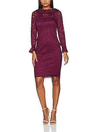 Para 36 Corded Purple Plum Mujer scrumptious Gina Rose Dainty Lace Bacconi Vestido q6wY8Pxw
